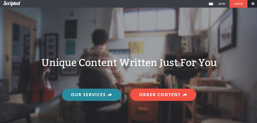 Scripted.Com - Freelance Content-For-Hire Work for Writers