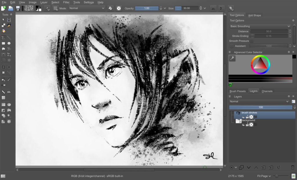 krita tutorial for beginners pdf
